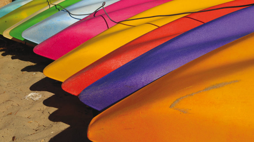 'Kayaks' (Kalbarri, WA) by Chris Fithall