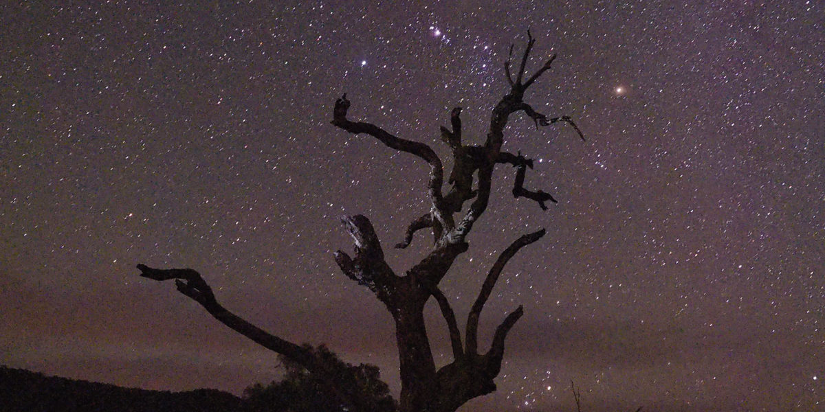 Night sky, Wee Jasper, Australia, 2015