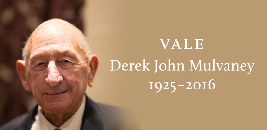 Vale Derek John Mulvaney